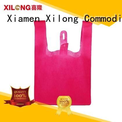 Xilong custom shopping bags with logo manufacturers
