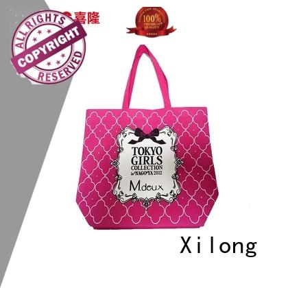 Xilong eco-friendly reusable shopping tote bags factory price for travel