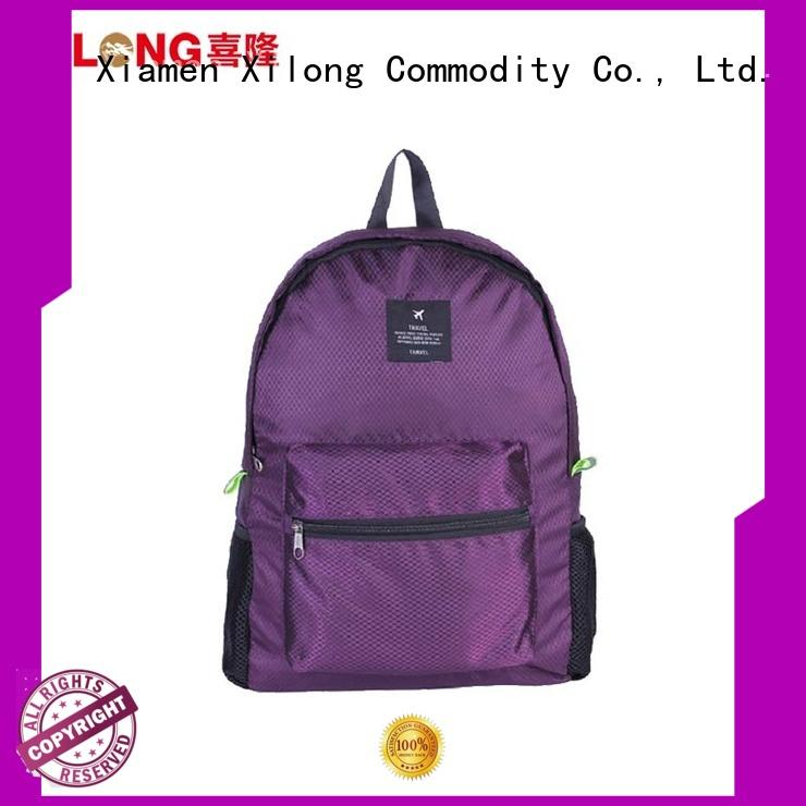 Xilong foldable hiking backpack Suppliers