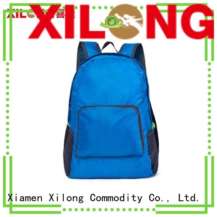 Xilong small foldable back pack best quality for tour