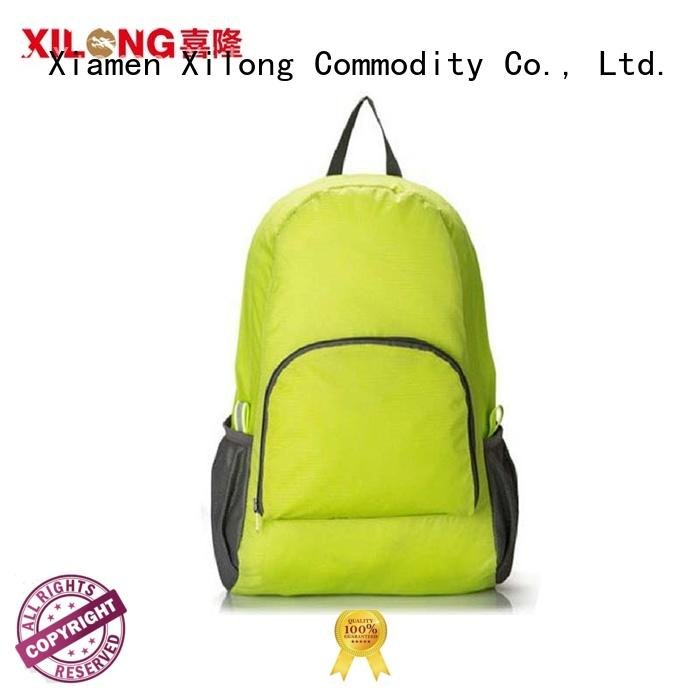 Xilong light foldable day backpack for boys