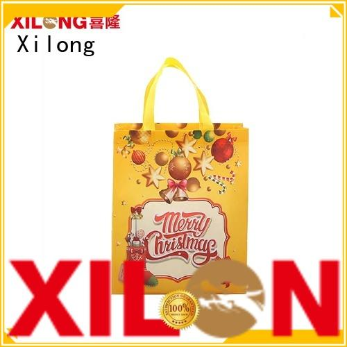 Xilong handled china shopping bag factory