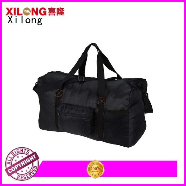 Xilong sport personalized sports duffle factory for travel