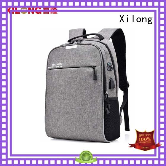 business laptop backpack charger for travel Xilong