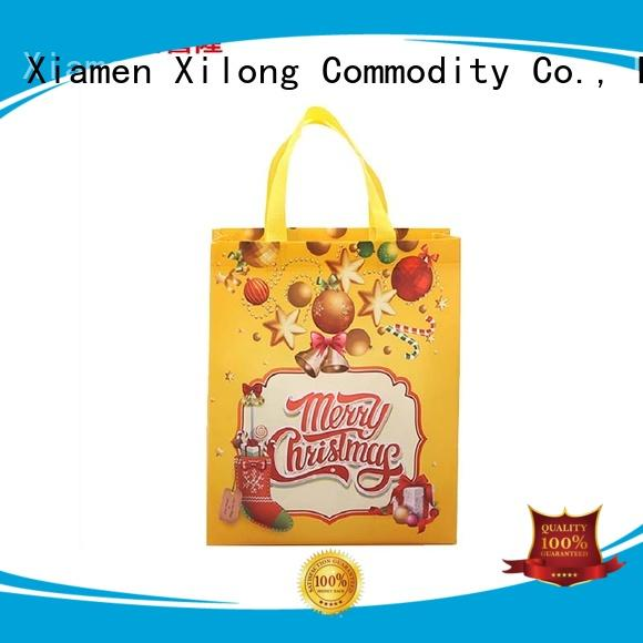 Xilong colorful custom design shopping bags free sample for hiking