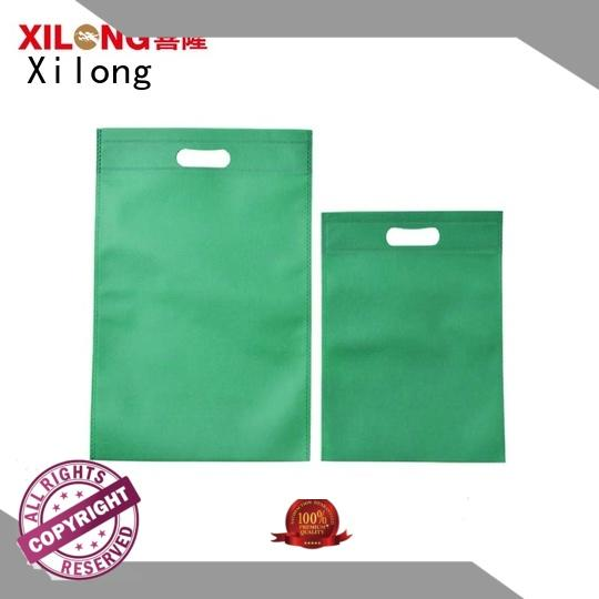 Xilong eco plain shopping bags for students