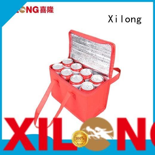 woven large cooler tote bag aluminium for storage Xilong
