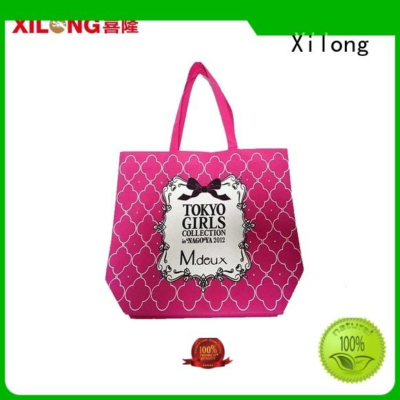 colorful cotton shopping bags wholesale now for students Xilong