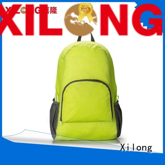 Xilong waterproof fold out backpack for travel