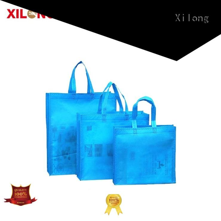Xilong Wholesale fabric shopping bag for business