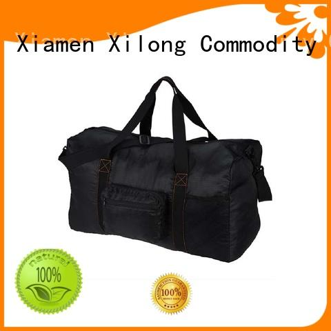 polyester customized duffle bags no minimum for wholesale for travel