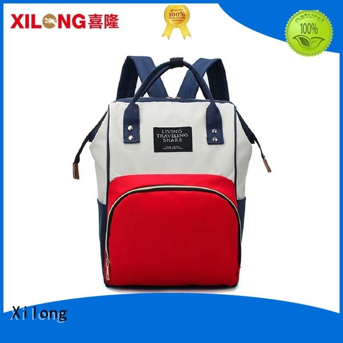 Xilong baby personalized baby diaper backpack diaper