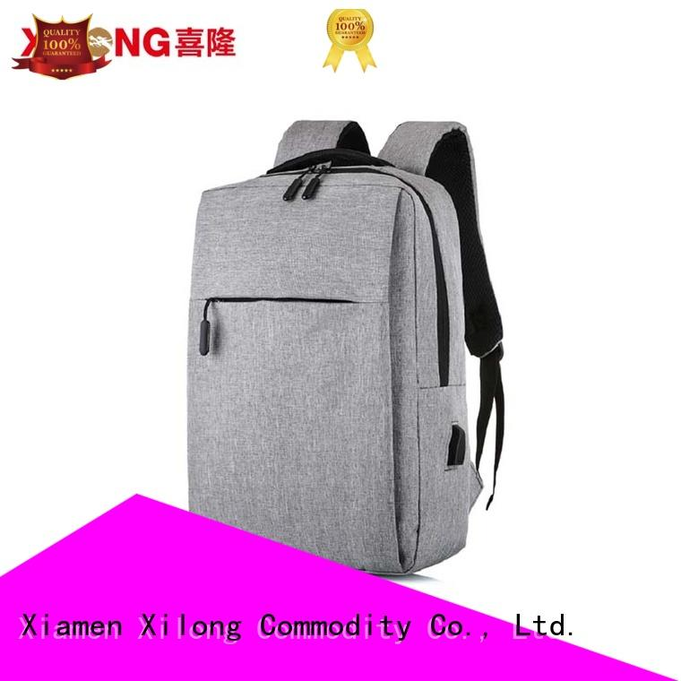 durable notebook backpack usb laptop for business trip