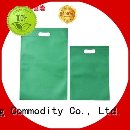 Xilong handled waterproof shopping bag factory price for travel