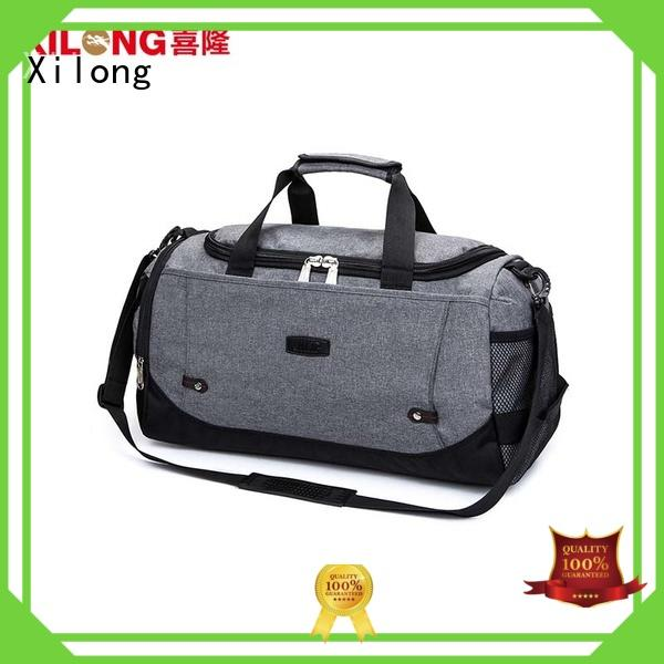 Xilong large custom made duffle bags for wholesale for tour