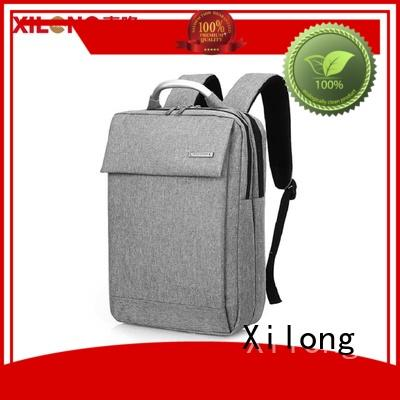 Xilong port laptop backpack companies business for travel