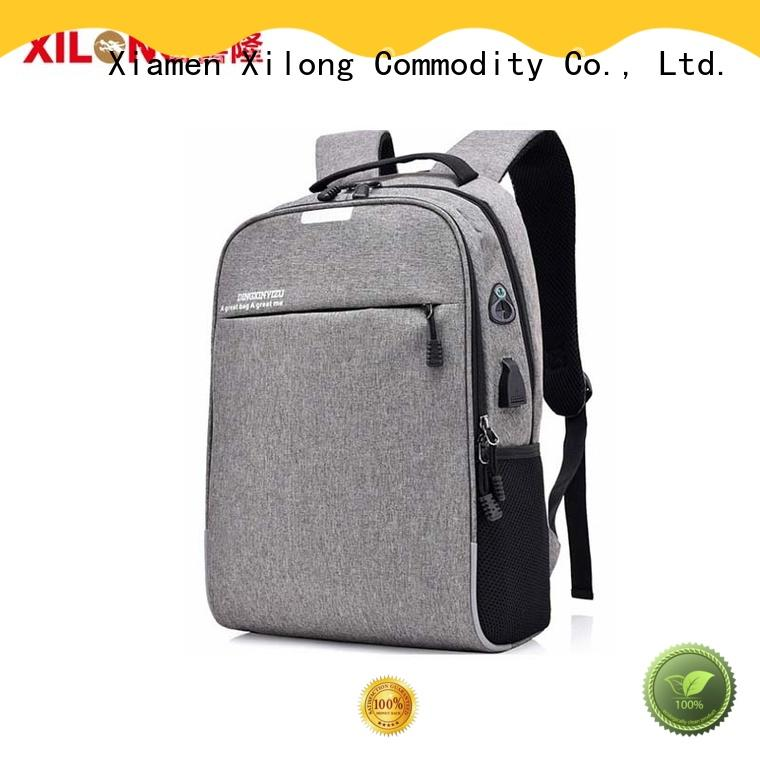 Xilong customized business laptop backpack fashion for travel