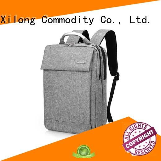 Xilong Custom small laptop backpack Suppliers