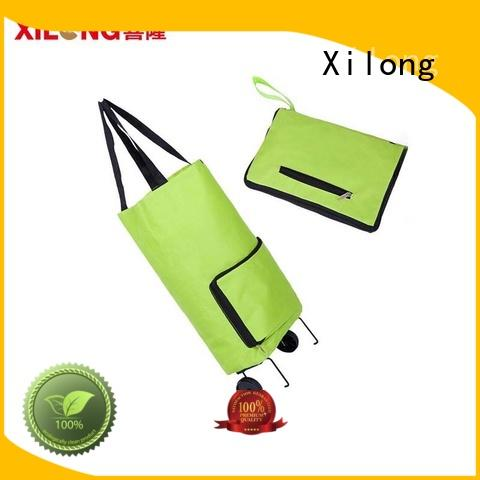 Xilong at discount shopping bag on wheels for wholesale for women