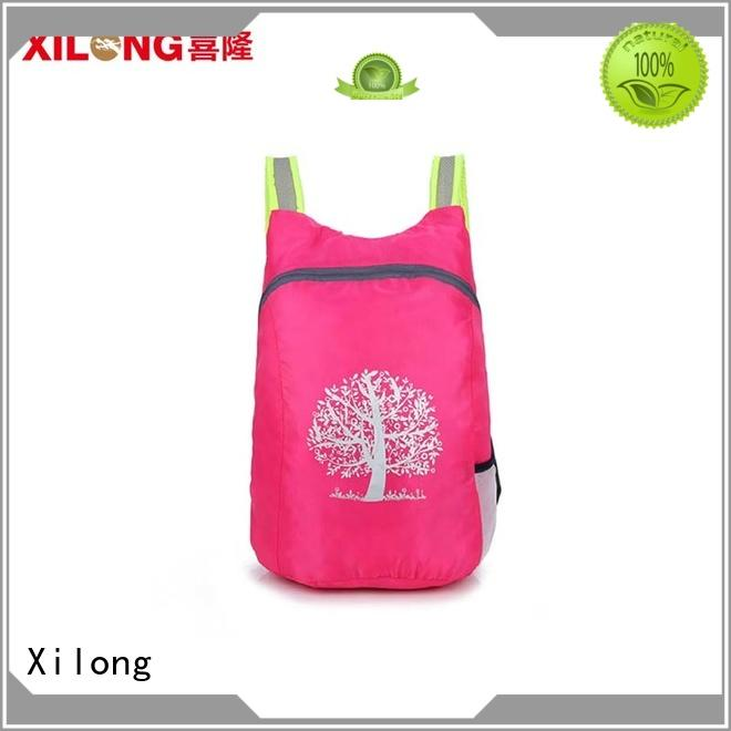 Xilong sports folding bike backpack bag for girls