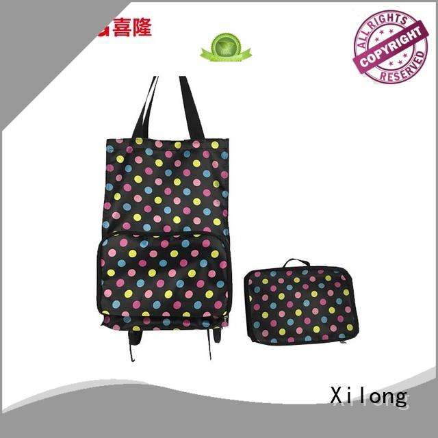 Xilong shopping cart trolley bags factory