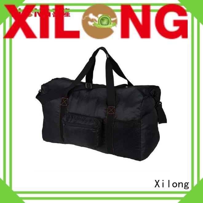 Xilong duffel personalized sports duffle supplier