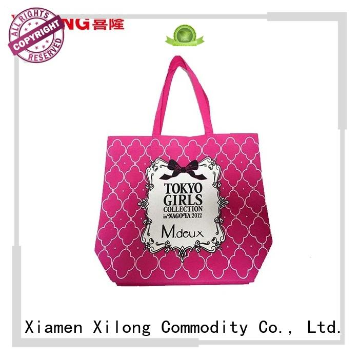 handle easy shopping bag factory price for students Xilong