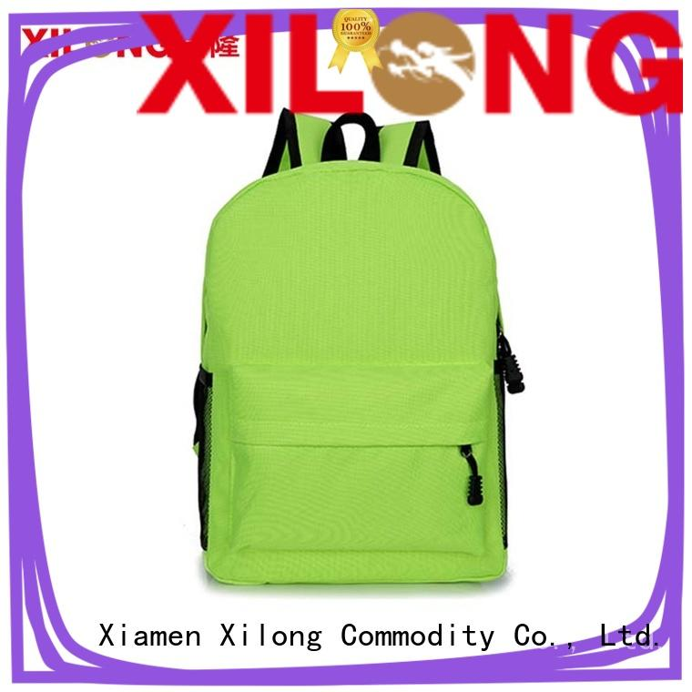 Xilong on-sale custom school bag custom