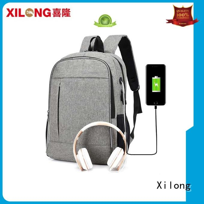top laptop backpacks charger for business trip Xilong