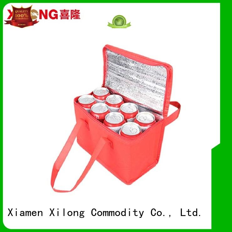 Xilong food insulated cooler tote bags foil for shopping