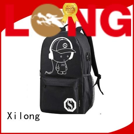 Xilong custom personalized book bags for school kids
