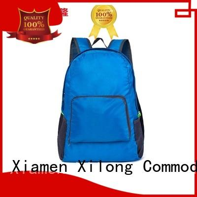 Xilong foldable fold up backpack travel for tour