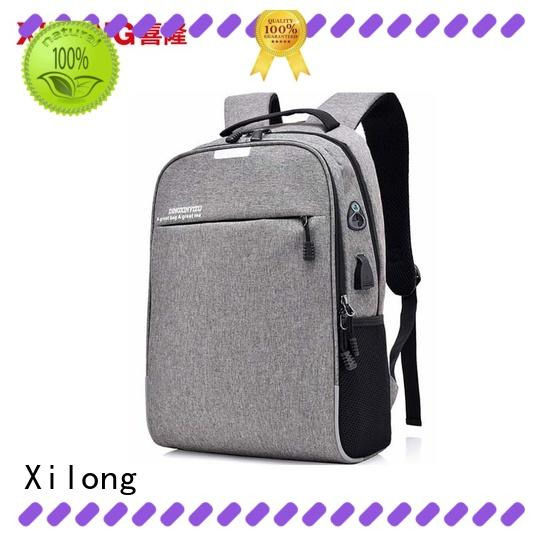 Xilong customized best laptop backpack for men fashion for travel
