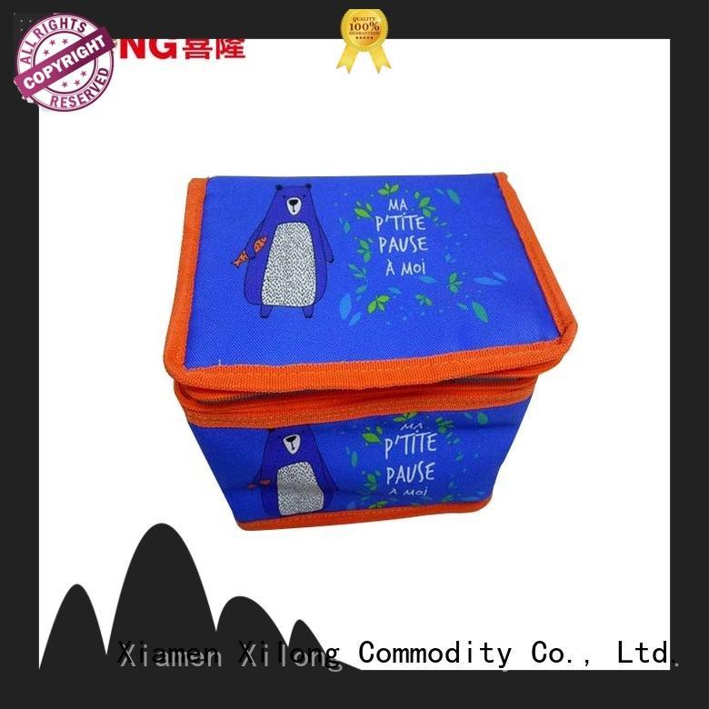 Xilong woven food cooler bag picnic