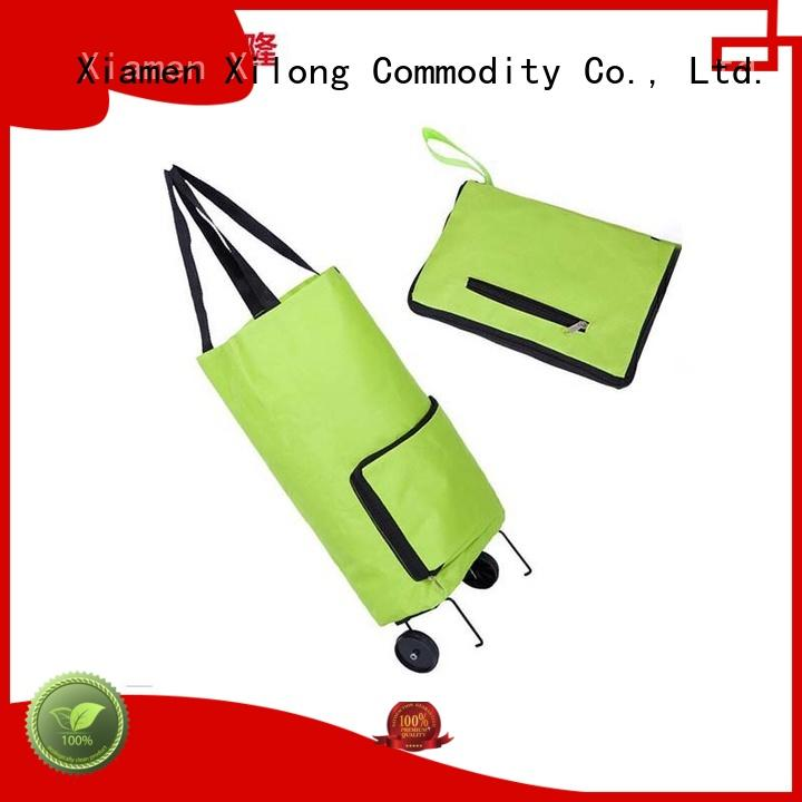 personalized reusable shopping bags foldable for travel Xilong