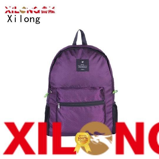 waterproof fold open backpack best quality for girls Xilong