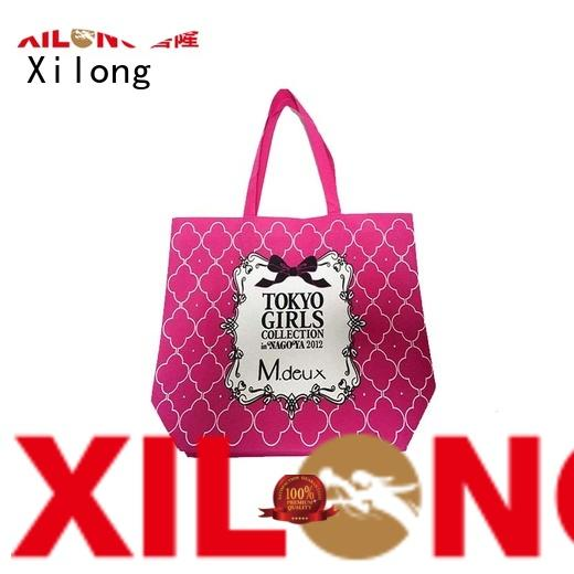 Xilong Best custom shopping bags with logo manufacturers