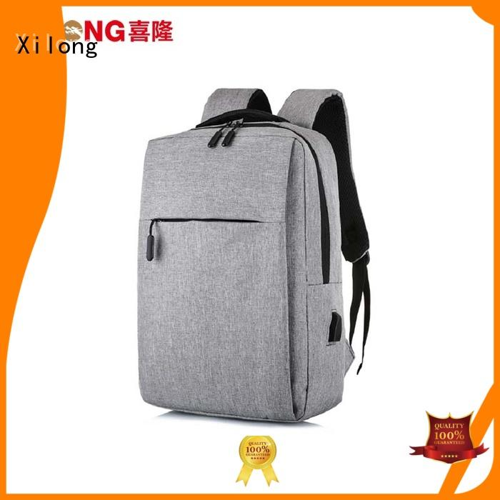 Xilong customized business laptop backpack backpack for computer