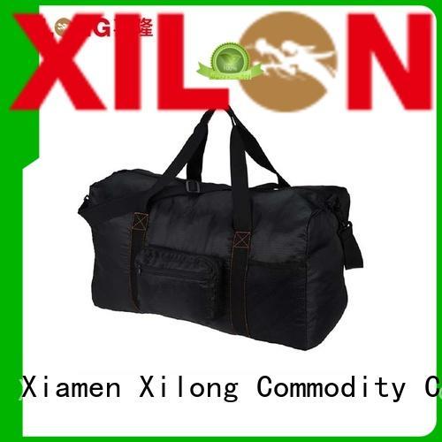 Xilong foldable custom sport duffel bags for wholesale