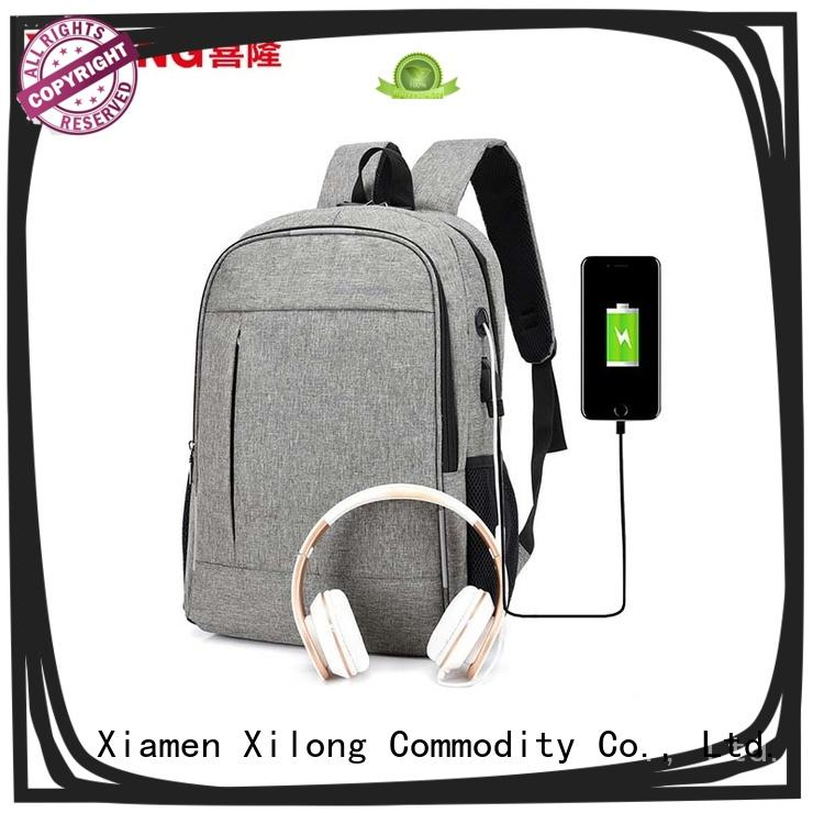 Xilong bags waterproof laptop backpack fashion for computer