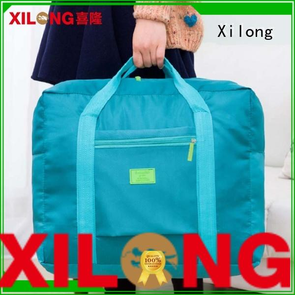 Xilong large personalized duffle bags no minimum supplier for travel