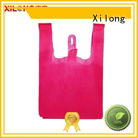 personalized shopping bags wholesale handle for students Xilong