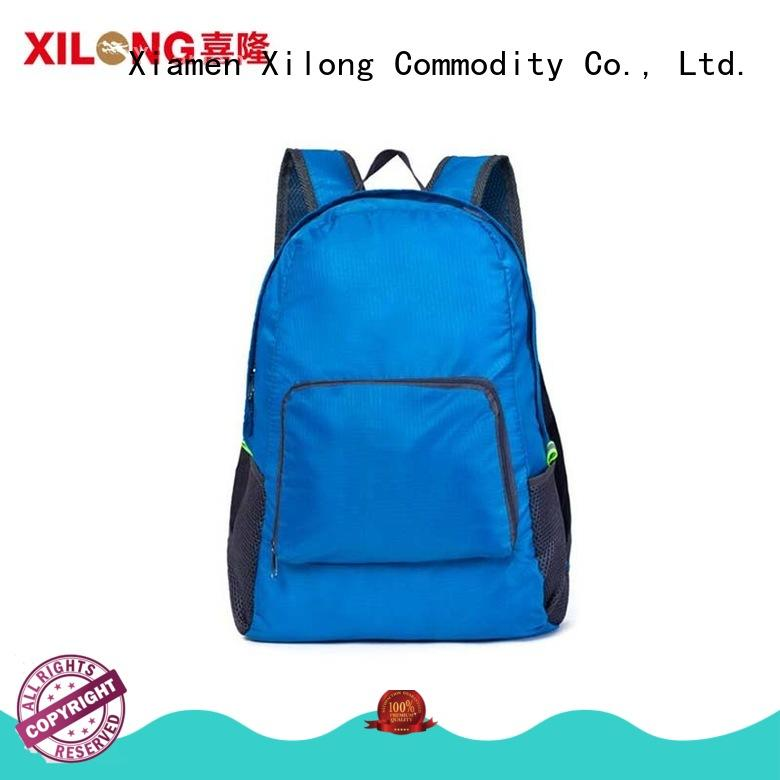 bag light foldable backpack reasonable price for travel Xilong