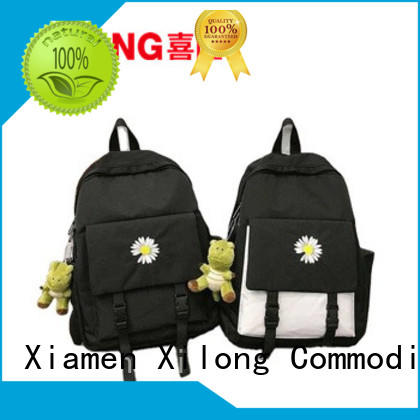 Xilong personalized customised school bags favorable price