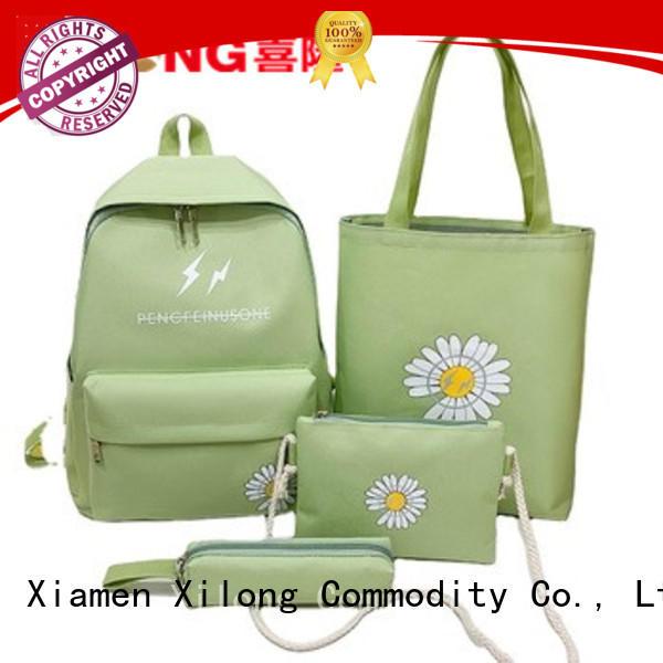 Xilong kids school backpack supplies custom