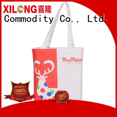 Xilong Custom trendy shopping bags factory