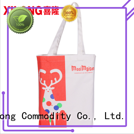 Xilong reusable tote shopping bags factory