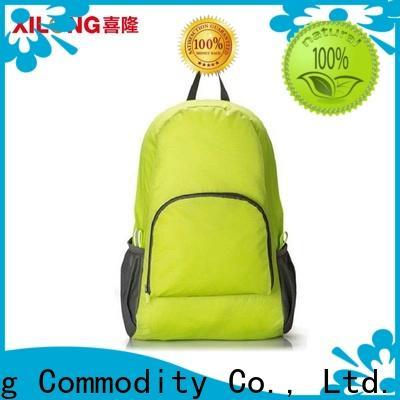 Xilong foldable backpack Supply