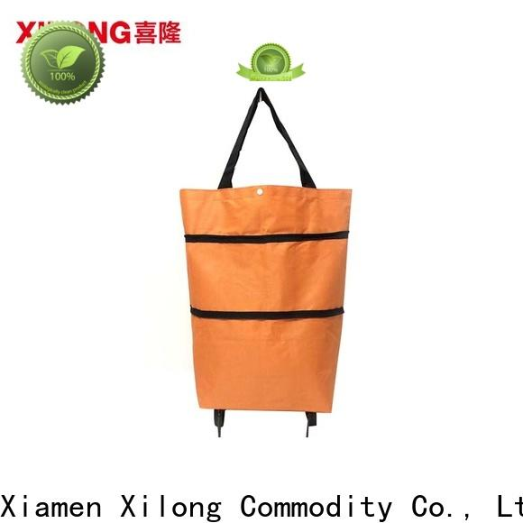 Xilong New shopping bag on wheels company