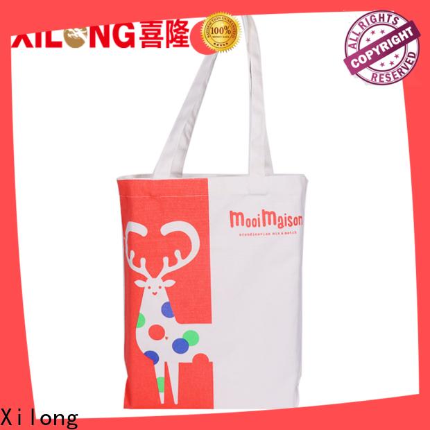 Xilong custom shopping bags Suppliers